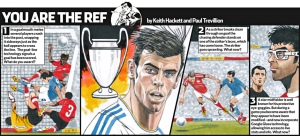 Gareth Bale You are the Ref