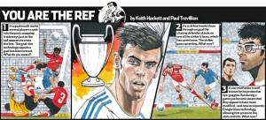 Gareth Bale You are the Ref