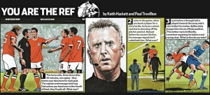 You are the Ref Jon Moss